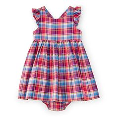 Cute look for 4th of July or other holiday.  Love this Cute Girls Dress from Ralph Lauren