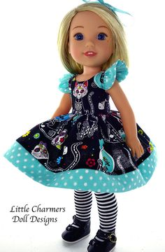 Wellie Wishers. Dress fits American Girl Wellie Wisher. by Little Charmers in Dolls & Bears, Dolls, Clothes & Accessories | eBay