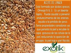 Aceite de Linaza.  Flaxseed Oil.