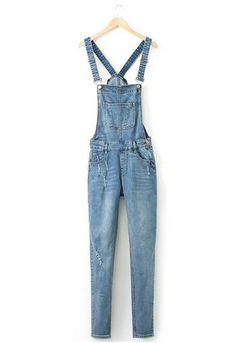 DETAILS Cute and comfy classic overalls! CONTENT & CARE - Material: Denim - Care: Machine wash cold, tumble or line dry SIZE & FIT - Full Length: 95-100 cm (37.4-39.4 in), varies by size - Runs true t