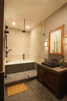 Traditional Anese Asian Bathroom Los Angeles Konni Tanaka Design Group Style