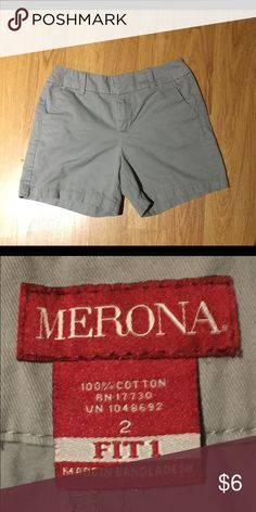 Merona shorts Merona shorts. Gently used and in great condition.  5 inch inseam Merona Shorts