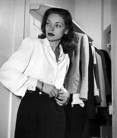 """You look like a goddamn rat pack."" - Bacall"