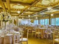 Mississaugua Golf & Country Club, Mississauga, Golf & Country Clubs Wedding Decorations, Table Decorations, Country Club Wedding, Outdoor Settings, Glass House, Wedding Receptions, Golf, Toronto, House Of Glass