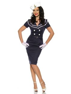 "Robe Pin Up ""Juliet"" - bleu"