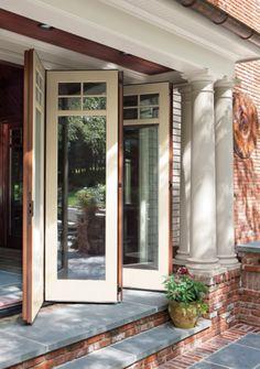 Folding french doors interior internal folding doors for Marvin folding doors