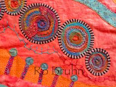 Ro Bruhn Art: Textiles this time