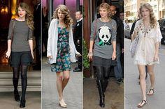 Taylor Swift's Sweet Street Style