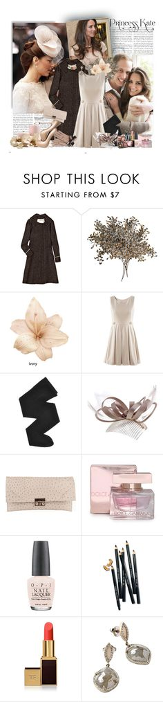 """kate middleton"" by corni-co-te-bravi ❤ liked on Polyvore featuring Reiss, Philosophy di Alberta Ferretti, C. Jeré, Gerbe, Monsoon, Yves Saint Laurent, Dolce&Gabbana, OPI, Bobbi Brown Cosmetics and Tom Ford"