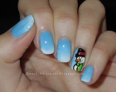 Love Life Lacquer: 12 Days of Christmas: Snowmen