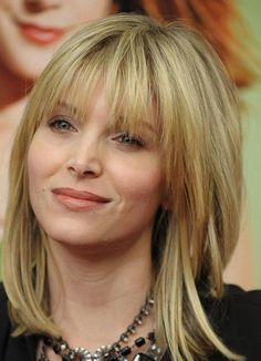 Medium Hairstyles with Bangs for Straight Hair 2014