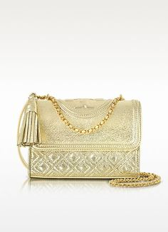 6bc9108851d Tory Burch Fleming Metallic Small Convertible Shoulder Bag  450.00 Actual  transaction amount