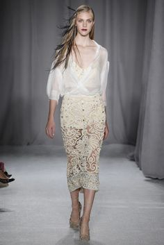 Marchesa RTW Spring 2014 - ADORE the skirt