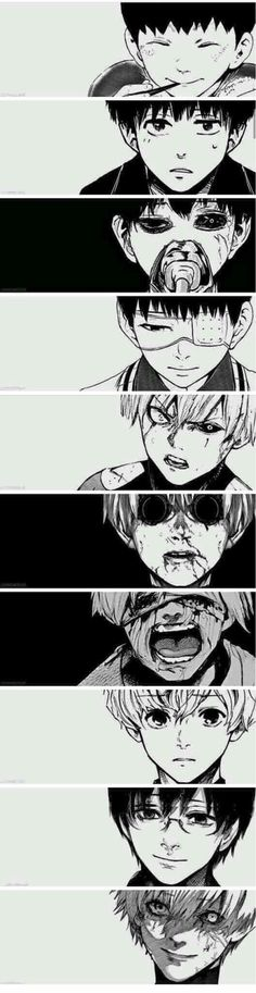 The world through Kaneki Ken's Eyes