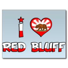 Red Bluff, CA Post Cards