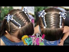 Peinado Infantil/ Casual Facil Y Rapido/ Peinados Rakel 41 Party Hairstyles, Down Hairstyles, Cute Hairstyles, Toddler Hairstyles, Little Girl Hairdos, Girls Hairdos, Half Up Half Down Hair, Hot Hair Styles, Beach Hair