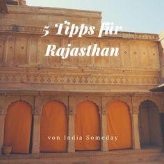 Die besten Tipps für Rajasthan! Urlaub in Rajasthan, Indien