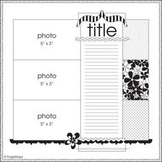 Image result for scrapbook page maps