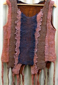 Antique Felted Tunic by Lizet Frijters - Click to view product details