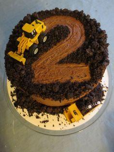 Construction cake by ava