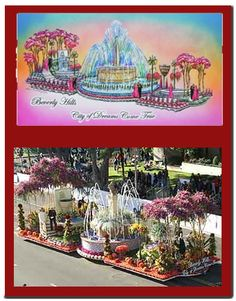 Beverly Hills Rose Parade Float Designed By Fiesta Parade Floats