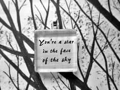 Daniel by Elton John Lyrics Glass Tile Pendant by lyricallady
