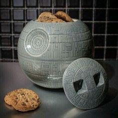 Death star cookie jar!