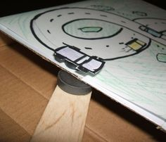 Build a magnetic race track