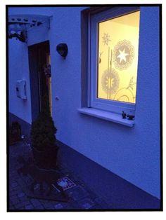 Spitzenmäßige Weihnachtsfenster