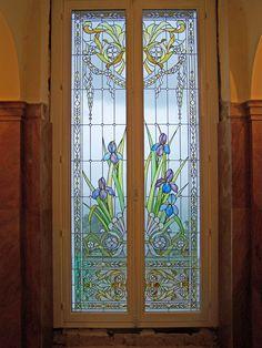 Stained glass window by France Vitrail International  http://www.ericbonte-maitreverrier.com/EN/