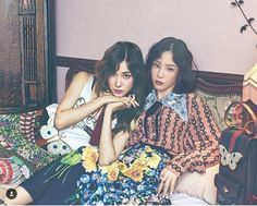 SNSD - TaeNy : W Korea Magazine August Issue 10 Th Anniversary