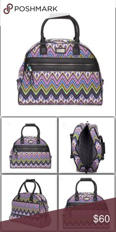 STEVE MADDEN Patchwork Dome Satchel NWT STEVE MADDEN Patchwork Dome Satchel  product description dual handles, printed, brand logo plate, metal feet, contrast trim 13.5in W x 12.5in H x 7in L zipper closure polyester imported Steve Madden Bags Satchels