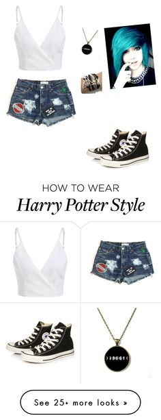 """""""Untitled #417"""" by fabulousllama13 on Polyvore featuring Converse"""
