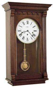 Howard Miller Alcot Key-wound Pendulum Wall Clock with Westminster Chime
