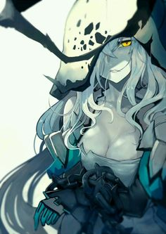 Abyssal Princess~ Source is Kancolle & Manga Chica Anime Manga, Manga Girl, Anime Art Girl, Anime Girls, Dark Fantasy Art, Fantasy Girl, Character Inspiration, Character Art, Anime Monsters