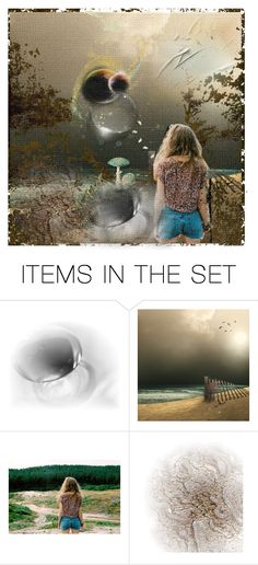 """The end of the world ..."" by lablanchenoire ❤ liked on Polyvore featuring art"