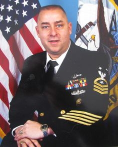 Jack Sanzalone was the command master chief of Sub Squadron-2 in Groton, Conn. when this picture was taken in 2000. Of the 350,000 members o...