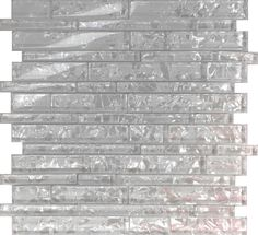 White Pearl Scent Linear Glass Mosaic Tile Kitchen Backsplash Wall Shower - Wall Tiles - Ideas of Wall Tiles Mosaic Shower Tile, Glass Mosaic Tile Backsplash, Mosaic Glass, Backsplash Ideas, Glass Tile Fireplace, Fireplace Tile Surround, Room Wall Tiles, Bathroom Wall, Master Bathroom