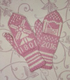 Happy Valentine with these Nivala-mittens! Designed by Irja Liinamaa Fingerless Gloves, Arm Warmers, Mittens, Winter, Happy, Handmade, Design, Fingerless Mitts, Fingerless Mitts