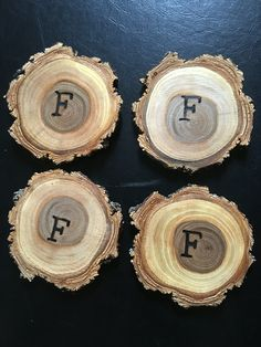 ❤️ Handmade coasters in sets of 4 or 8, small or large! A unique wedding gift that doesn't break the bank AND is pretty bad ass. Put a hand-burnt initial or date on each one for free! See the coaster listing below and contact me with any questions!   Shipped to anyone in the US within' 1 business day.  https://www.etsy.com/listing/231101278/wood-disc-coasters-sets-of-4-or-8   #outdoorspirit #utah #handmade #coasters #hemp #sealed #shopsmall #gifts #freegiftwrap #thankyou #setsoffour…