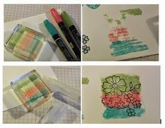 Things to do with stampin write markers