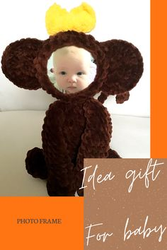 This photo frame will perfectly decorate your home. It will be a wonderful gift for any occasion. It looks very cool pictures of children. Baby Stuffed Animals, Stuffed Animal Cat, Handmade Toys, Etsy Handmade, Handmade Ideas, Elephant Pattern, Cat Pattern, Easy Crochet Patterns, Crochet Patterns Amigurumi