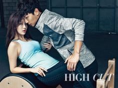 Girl's Day's Yura & Lee Cheol Woo as Sweat Couple for 'High Cut' [More Image] >> http://kpopselfie.blogspot.com/2015/10/girls-days-yura-lee-cheol-woo-as-sweat.html
