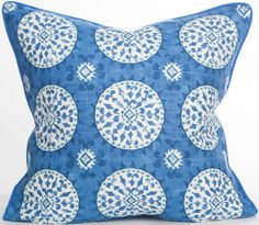 Malibu Collection - Cosmo Pillow: Coastal Home Decor, Nautical Decor, Tropical Island Decor & Beach Furnishings
