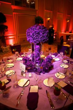 It should be exactly as you want because... It's Your Party!: Perfect Purple Wedding Inspiration!
