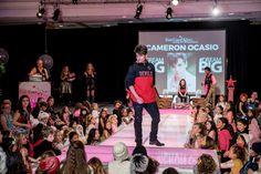 Cameron Occasio on the runway Big G, Runway, Challenges, Concert, Model, Cat Walk, Recital