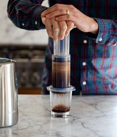 Great, inexpensive Christmas idea for coffee lovers --How To Make AeroPress Coffee (Two Ways!) — Cooking Lessons from The Kitchn | The Kitchn
