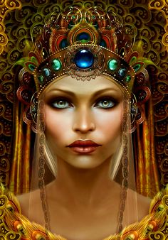 A fun image sharing community. Explore amazing art and photography and share your own visual inspiration! Fantasy Women, Fantasy Art, Mujeres Tattoo, Portraits, Portrait Art, Egyptian Art, Egyptian Fashion, Egyptian Beauty, Egyptian Queen