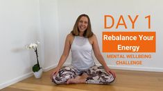 Kundalini Yoga: Mental Wellbeing ~ Day 1 - Rebalance Your Energy Free Yoga Videos, Gentle Yoga, Deep Meditation, Meditation Practices, Kundalini Yoga, Back Pain, Strength, How Are You Feeling, Day