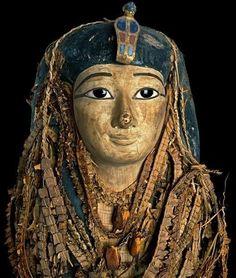 Egyptian mummy mask by evangelina